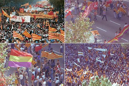 manifestació 77 Barcelona