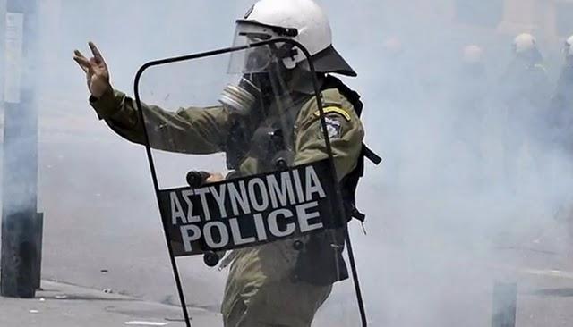 La lucha de Grecia contra el saqueo en unas imágenes de impacto  Afsa