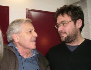 Carlos Jiménez Villarejo y Albano Dante Fachin