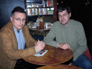 Carles Muntaner y Joan Benach