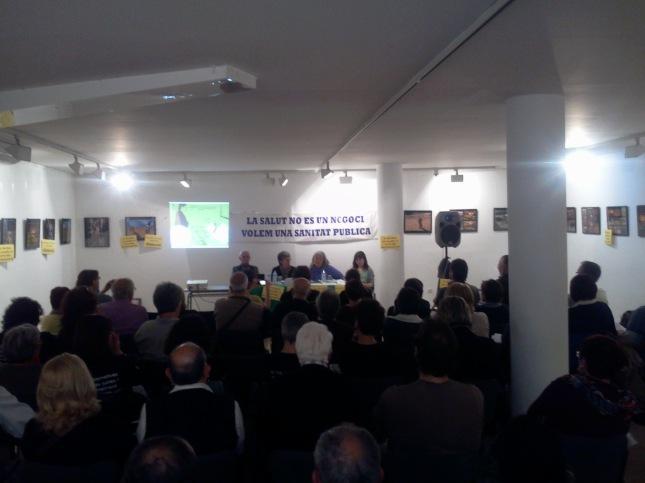 Acte Cerdanyola IPP - Foto: Zé Moreira