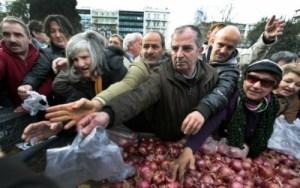 hambre en Grecia