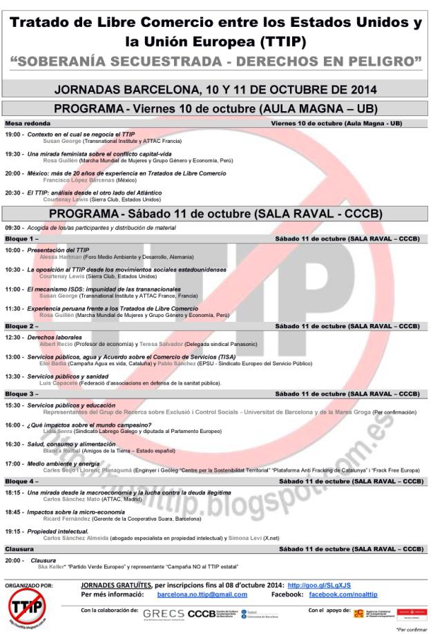 TTIP programa castellà