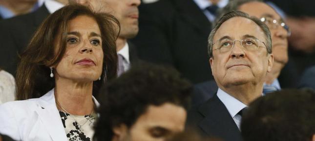 Ana Botella y Florentino Pérez